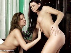 Sizzling Vixens by Sapphic Erotica - lesbian love porn with Peaches - Jasmi