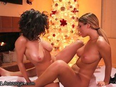 AllGirlMassage August Ames and Darcie Dolce!
