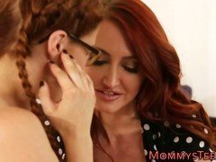Ginger stepmilf scissor